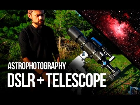 hook up dslr to telescope
