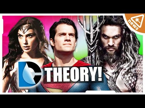 Are WONDER WOMAN and AQUAMAN Kryptonians? (Nerdist News w/ Jessica Chobot)