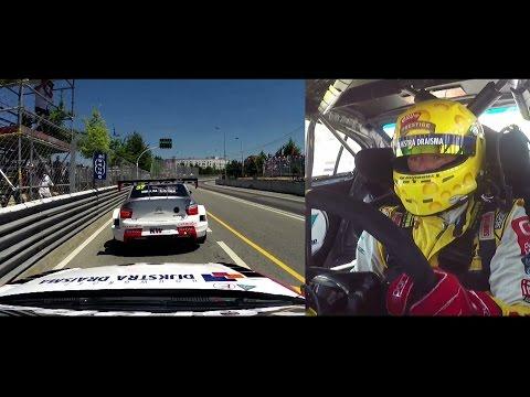 Onboard lap Vila Real streetcircuit, Tom Coronel, FIA WTCC Portugal 2015