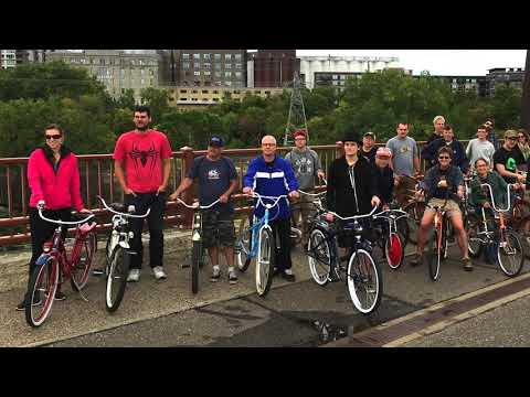 Minnesota Antique & Classic Bicycle Club 2016 Fall Bike Ride