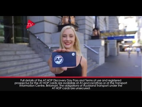 AT HOP Card   Auckland - YouTube