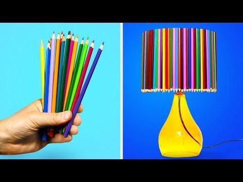 14 AMAZING DIY LAMPS FOR KIDS BEDROOM