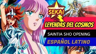 Saintia Sho OPENING, Saint Seiya -  ESPAÑOL LATINO/ The Beautiful Brave ( SEKAI134/ MAGO REY)