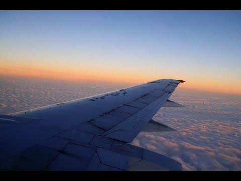 Посадка во Внуково Boeing 737-400 Utair