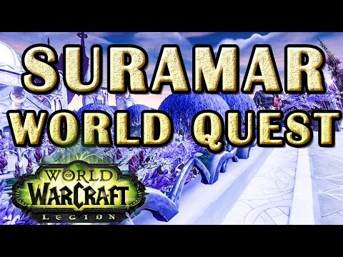 Undersea Survey WoW World Quest