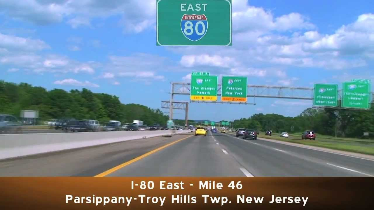I-280 East: New Jersey