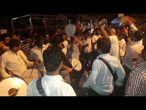 Charkop cha Raja aagman 2k18 milind kachi Dhol 🎹🥁