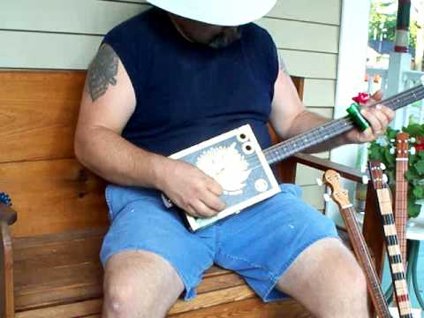 cigar box guitar #143 by back porch mojo
