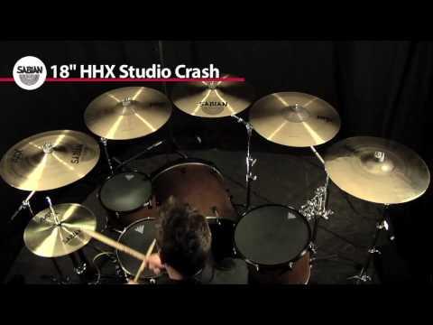 Crash Cymbal Comparison- 5 Sabian 18
