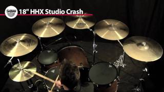 "Crash Cymbal Comparison- 5 Sabian 18"" Crashes"