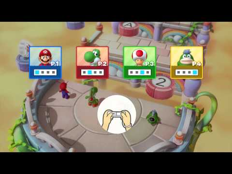 Mario Party 10: All Free-For-All Minigames (4 Player)