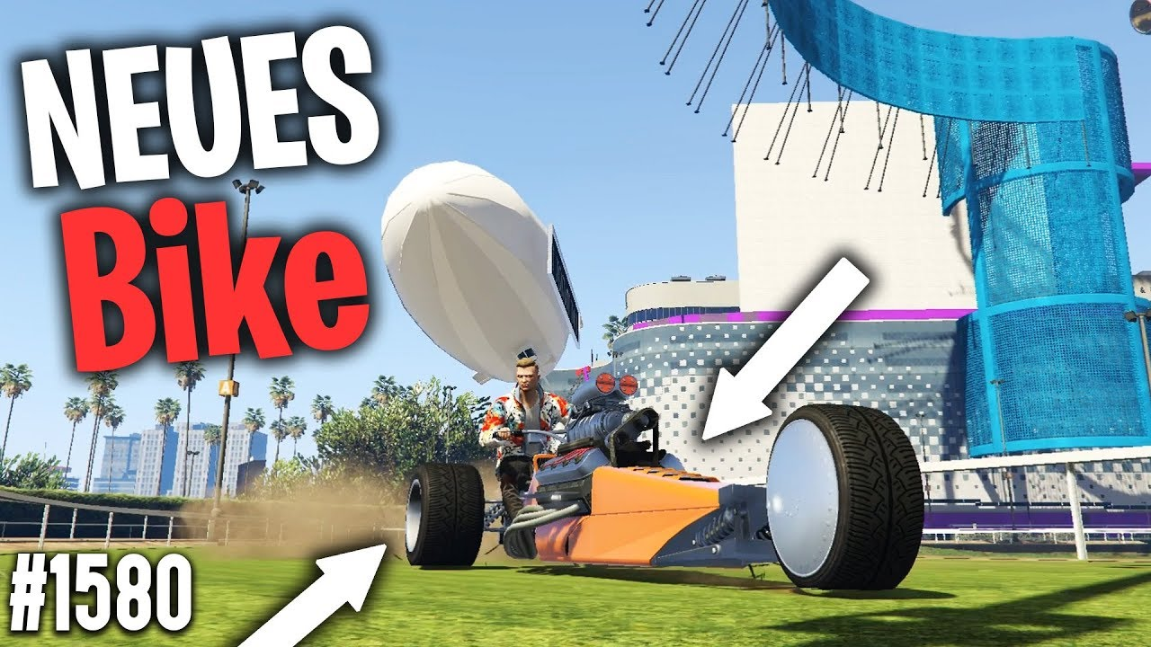NEUES BIKE in GTA - CASINO PARKOUR | GTA 5 Online