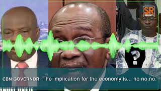CAUGHT ON TAPE: CBN Gov Emefiele And Top Officials Discuss How To Cover-Up N500bn They Stole  -Part2