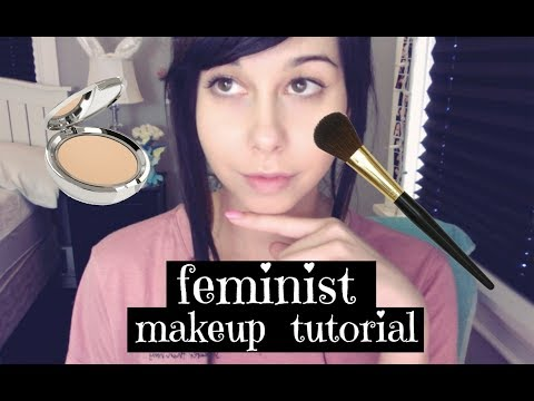 Thumbnail: Feminist Makeup Tutorial