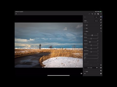 Learn Lightroom CC (Lightroom in the Cloud) - 15: Tablet Processing