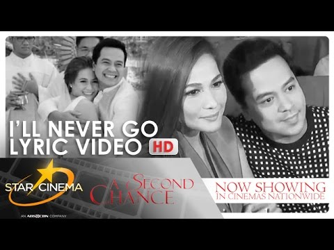 'A Second Chance' | I'll Never Go Lyric Video | Erik Santos