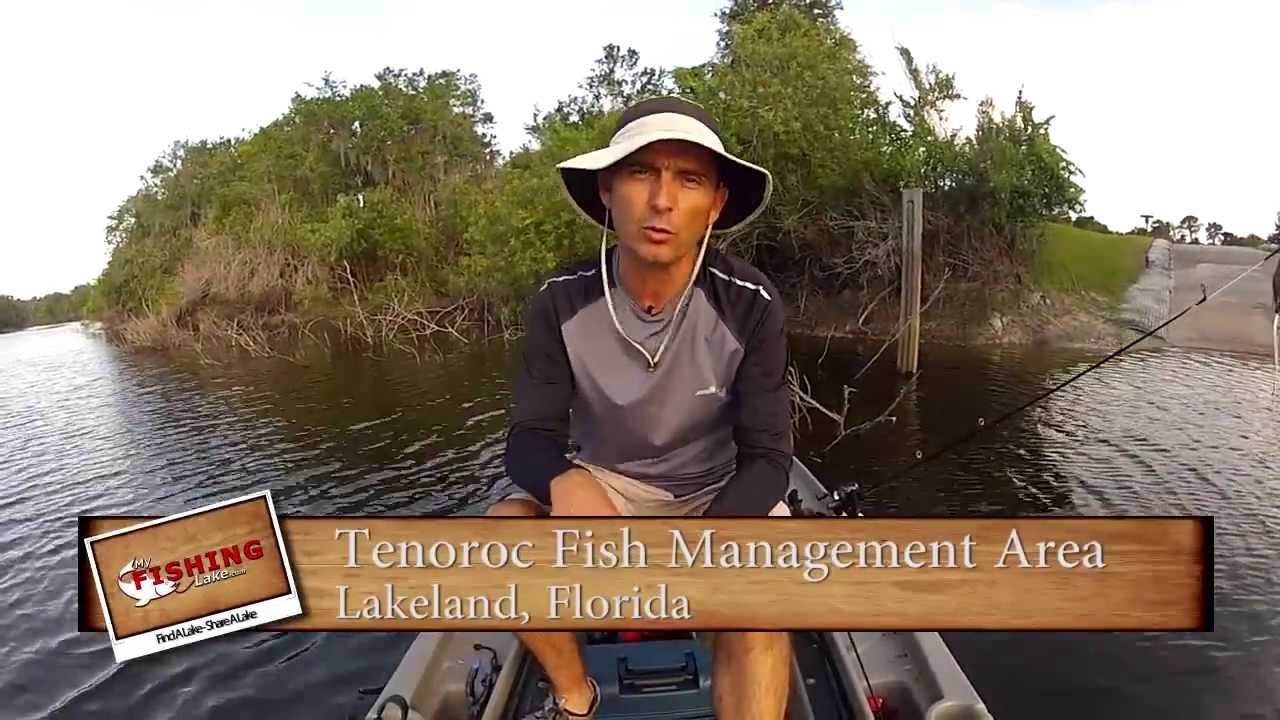 Tenoroc fish management area my fishing lake episode for Twin lakes fishing report