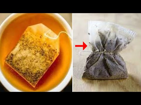 Don't throw away those used teabags! You Can Cure Many Common Painful Ailments With Used Tea Bags!