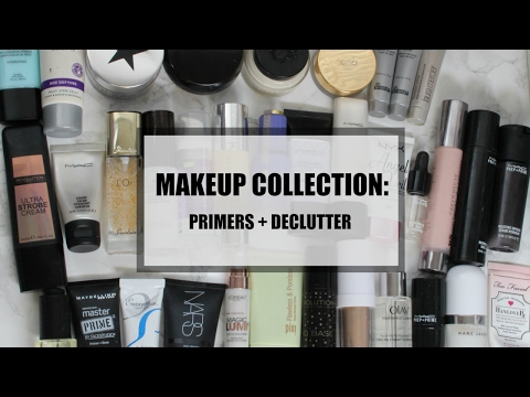 MAKEUP COLLECTION SERIES   PRIMERS + DECLUTTER