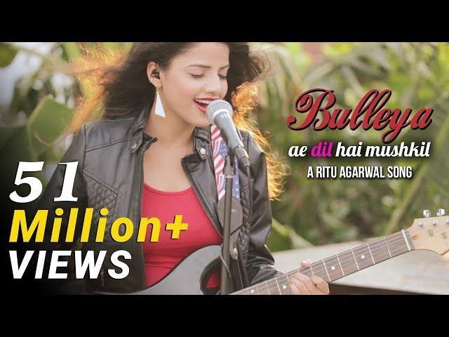 Bulleya - Female Cover Version by @VoiceOfRitu | Ae Dil Hai Mushkil | Karan Johar