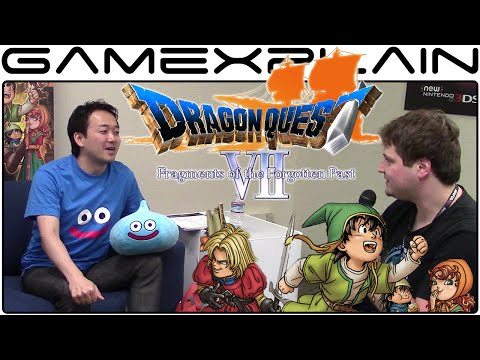 Dragon Quest VII: Fragments of the Forgotten Past Interview (PAX West 2016)