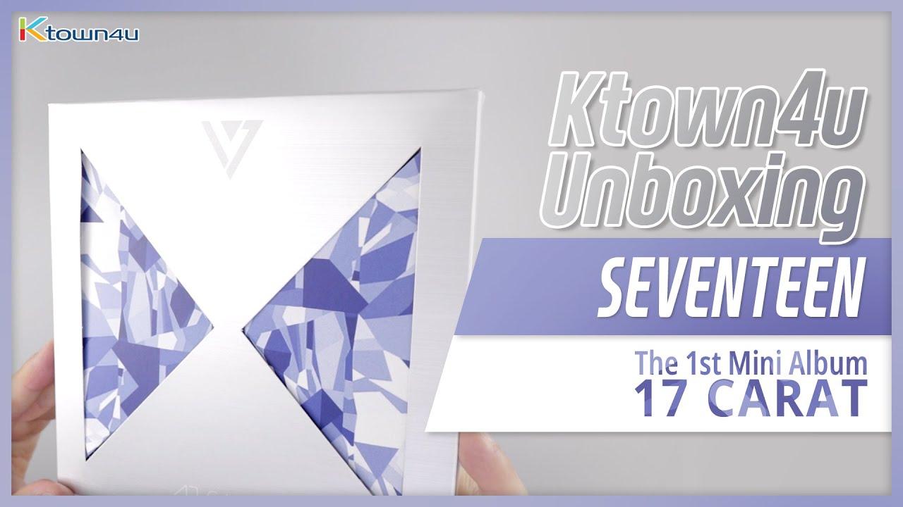 Unboxing SEVENTEEN