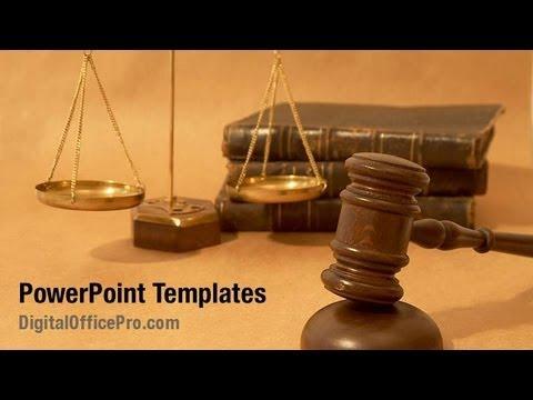 Court Law PowerPoint Template Backgrounds - DigitalOfficePro #08943W ...