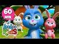 Sleeping Bunnies - Amazing Songs With Animals | LooLoo Kids