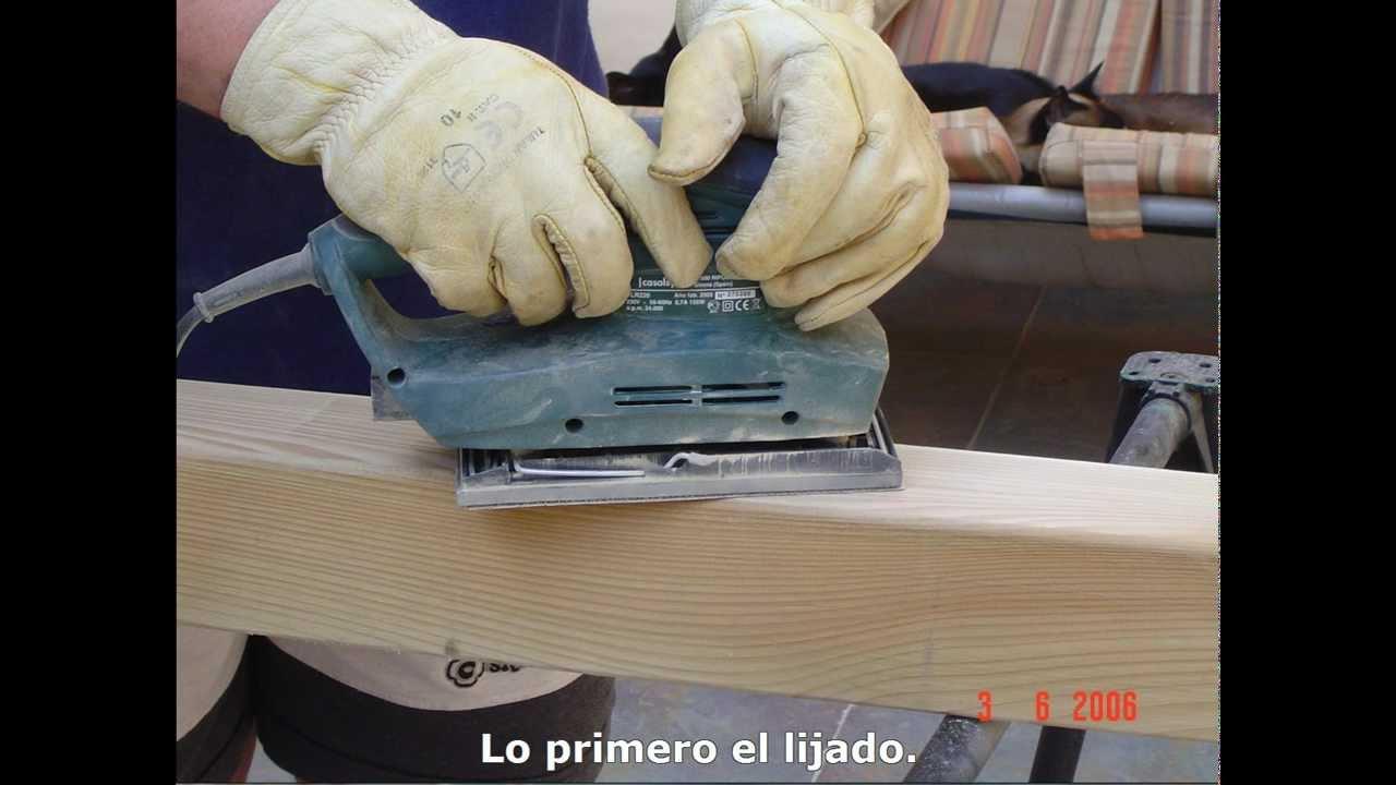 Montaje de una pergola de madera paso a paso youtube - Como hacer un toldo para pergola ...