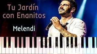 Tu Jardín con Enanitos (Melendi) (Cover Piano | Partituras | J. M. Quintana Cámara)