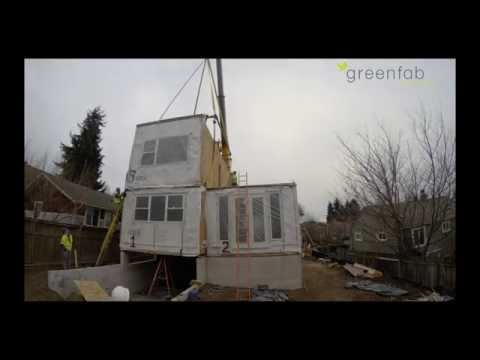 Greenfab's 1700 Series Custom Home – Installation Seattle