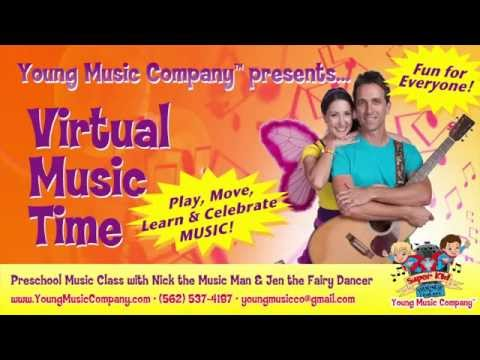 Preschool Music Class - Virtual Music Time - Movin