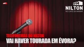 RFM - Nilton - Telefonema - vai haver tourada em Évora? - 15-11