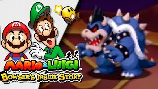 BOWSER vs BOWSER OSCURO (FINAL)!! | Mario & Luigi: Bowser Inside Story 3DS | Ep 44 -- RED SHOCK --