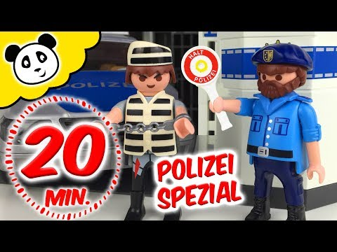 ⭕ PLAYMOBIL POLIZEI - Kommandozentrale SPECIAL - Pandido TV