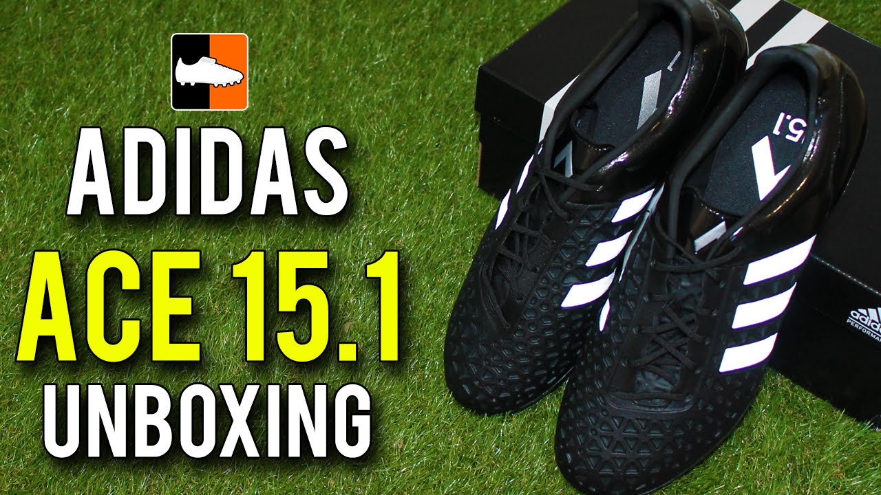 designer fashion 0c750 dc0d8 Black Reflective Ace 15.1 Unboxing adidas #BeTheDifference
