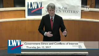 Government Ethics and Conflicts of Interest Presentation