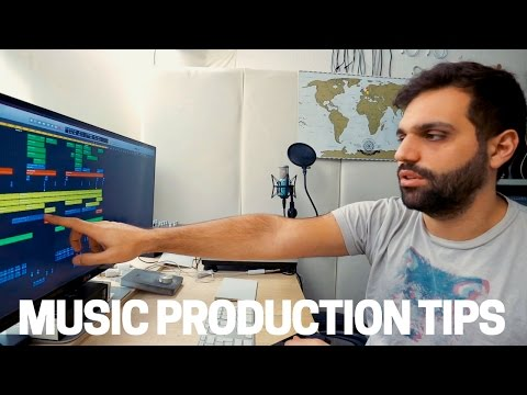 5 HELPFUL MUSIC PRODUCTION QUICK TIPS YOU NEED TO KNOW