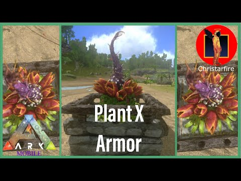 Plant X Armor Glitch(Ark Mobile)