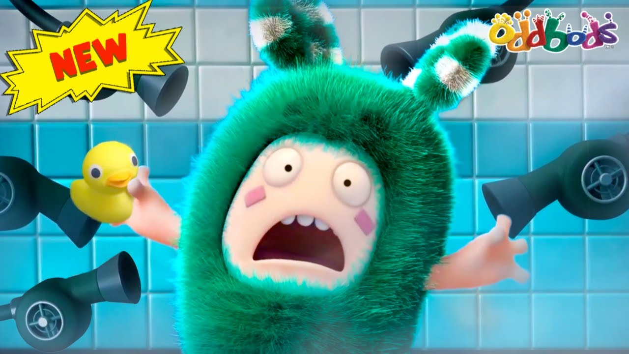 Oddbods | NEW | LAYZEE AND COZEE | Funny Cartoons For Kids