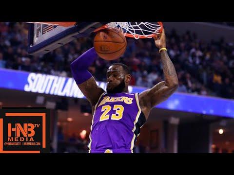 Los Angeles Lakers vs Memphis Grizzlies 1st Half Highlights | 12.08.2018, NBA Season