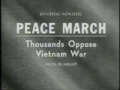 Newsreel:  Anti-War March, 1967