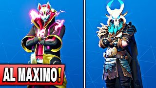 UNLOCKING THE SKIN OF DERIVA AND RAGNAROK *TO MAXIMUM* FORTNITE: Battle Royale (NEW UPDATE)