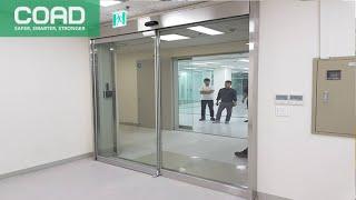 자동문 설치 가격 업체 장애인화장실자동문 유리자동문