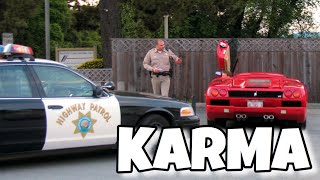 INSTANT POLICE JUSTICE | STUPID PEOPLE KARMA COMPILATION