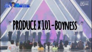 【MV繁中韓字】PRODUCE X 101(프로듀스 X 101)-Boyness(少年美/소년미)