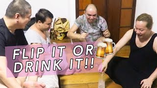 FLIP IT OR DRINK IT (INSPIRED BY VIY CORTEZ) LAPTRIP SA MGA BEKS! | CHAD KINIS VLOGS