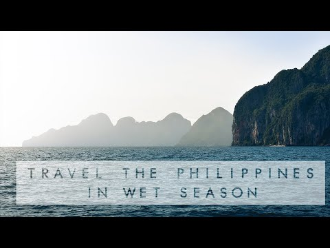 How to TRAVEL the PHILIPPINES in WET SEASON