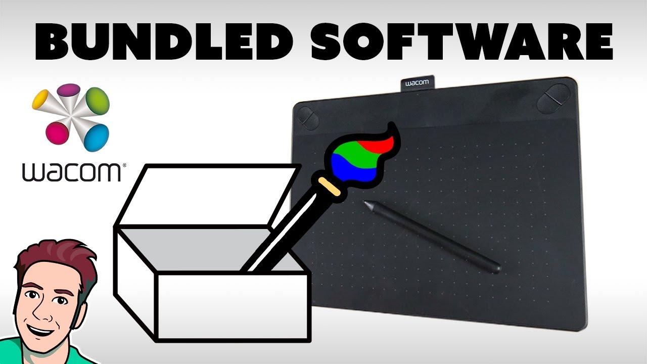 How to Download Wacom Software (Bundled Software)