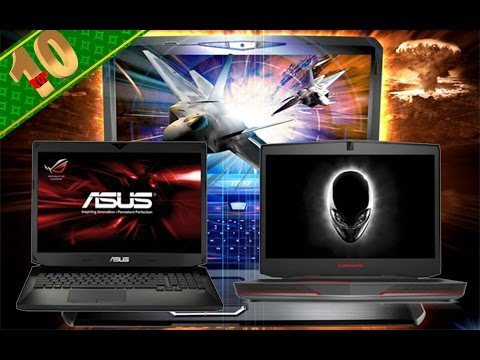 Top Ten gaming laptops 2014